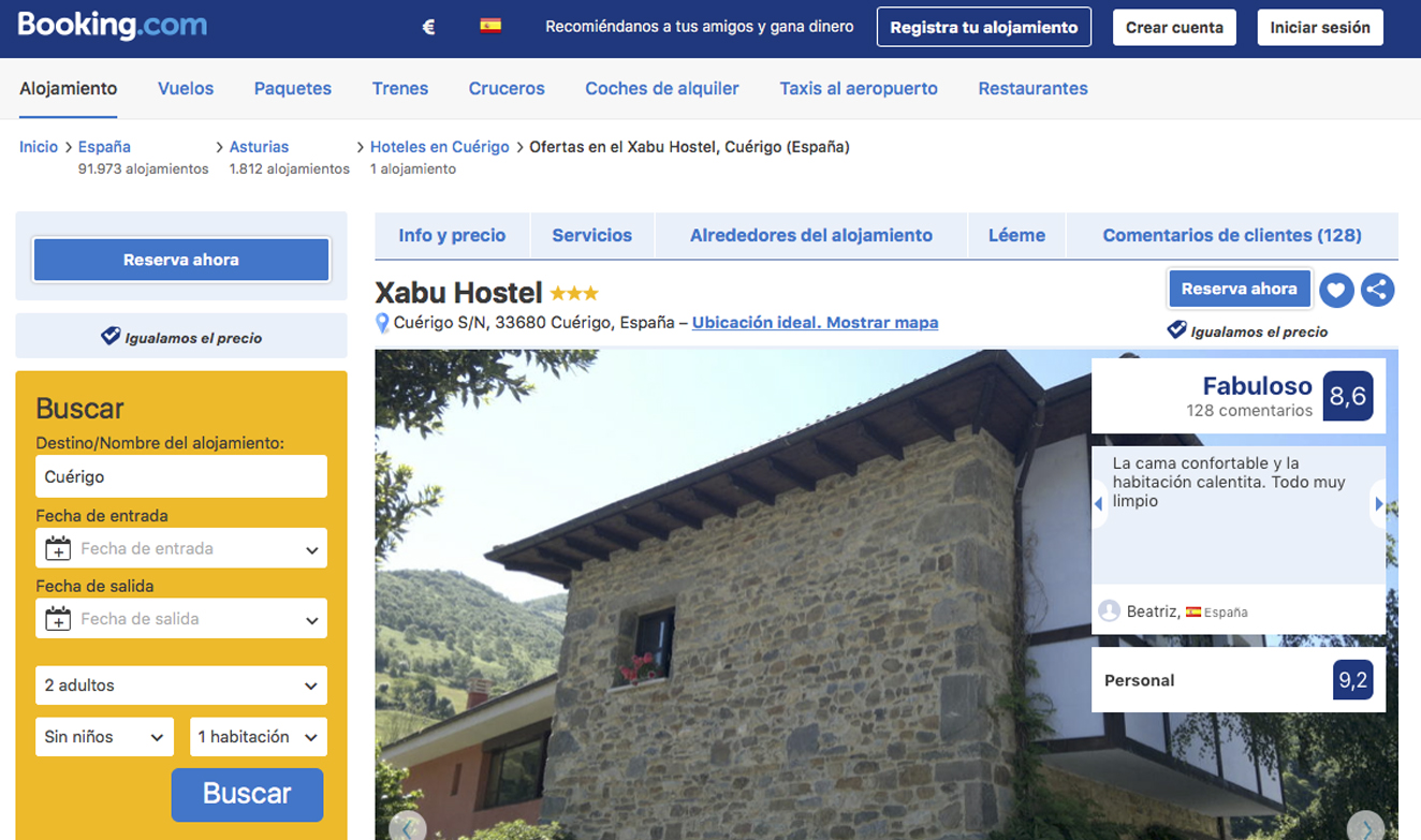 Booking Xabú Hostel